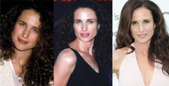 Andie Macdowell Plastic Surgery Before and After 2019
