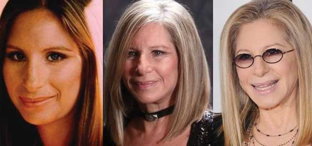 Barbra Streisand Plastic Surgery Before and After 2018