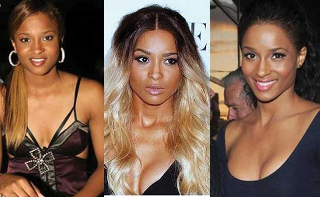 Ciara Plastic Surgery Before and After 2017