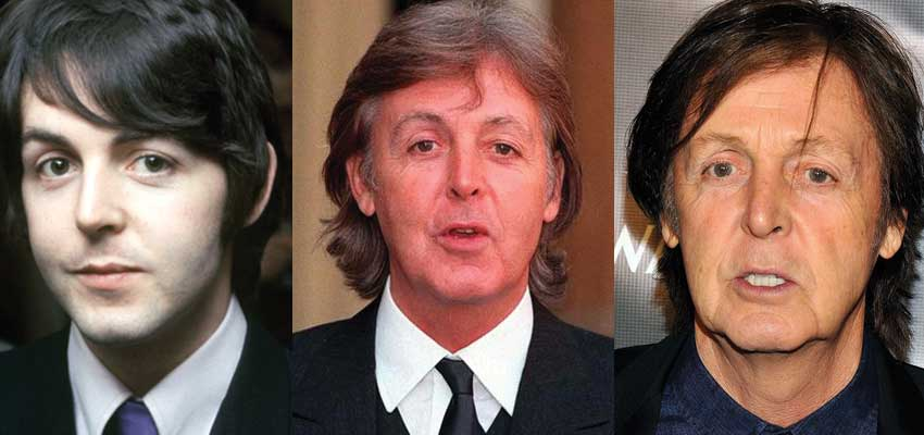 Paul McCartney Plastic Surgery Before and After 2017