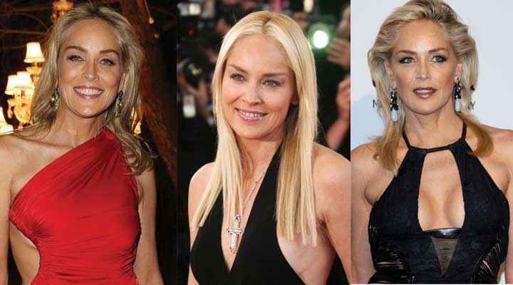 Sharon Stone Plastic Surgery Before and After 2018