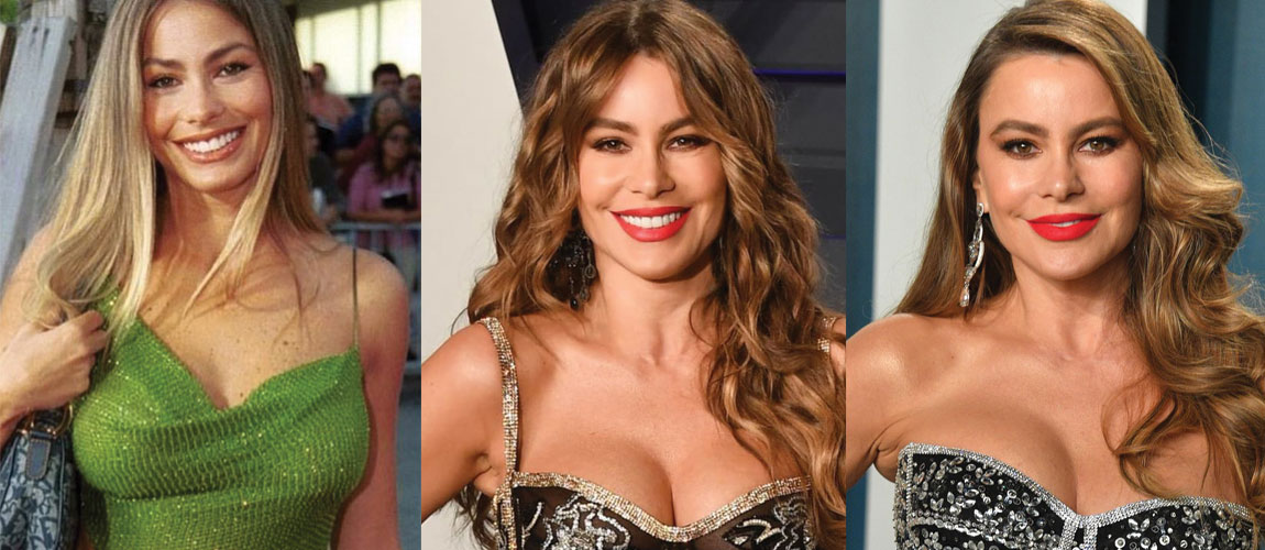 Sofia Vergara Plastic Surgery Before and After 2020